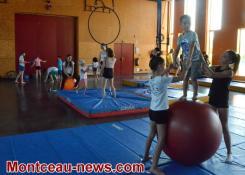Saint-Vallier: l'école de cirque du FJEP