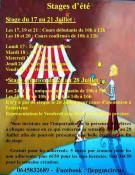 L'école de cirque GUS CIRCUS du FJEP (Saint-Vallier)