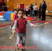 Saint-Vallier: atelier Cirque Parents-Enfants