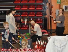Saint-Vallier: FJEP : atelier Cirque Parents-Enfants