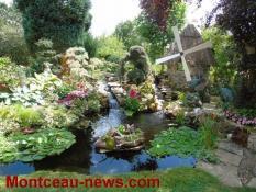Maisons fleuries (Montceau)