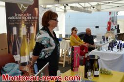 Saint-Vallier : Inauguration Foire artisanale