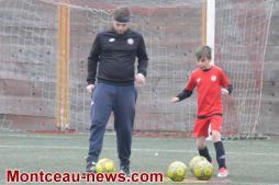 Stage de football du FC Montceau