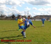 Foot District (Division 1): Blanzy B s'offre Pouilloux (5-3) et défaite à domicile pour Sanvignes