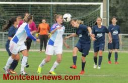 Football - Reprise du championnat pour l' US Blanzy féminine 71