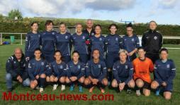 US Blanzy Féminines (Foot DH): Victoire avec la manière ce dimanche contre Pontarlier (4-1)