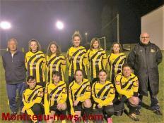 Foot Féminin (Génelard/Gueugnon): L'équipe se prépare avec sérieux