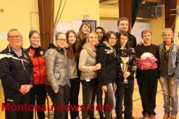 Finale départementale de futsal féminin à Montchanin