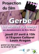 Présentation du documentaire sur Gerbe à l'ECLA à Saint-Vallier