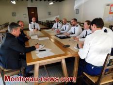 Audition des forces de l'ordre par le député Raphaël Gauvain (LREM)