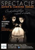 Gayah et Caroline Varlot en concert (Sortir