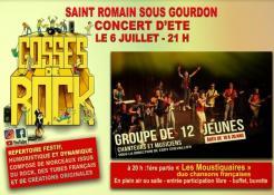 Rappel / Saint Romain sous Gourdon  : Les Gosses de Rock VOIR LA VIDEO