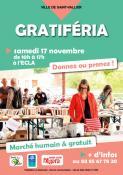 Gratiféria à l'ECLA (Saint-Vallier)