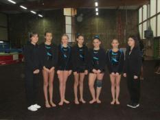 Championnat départemental par équipe de Gym ( Blanzy)