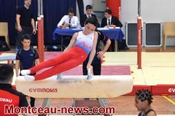 Montceau-les-Mines : Championnat inter départemental individuel de Gymnastique Artistique Masculine (GAM)