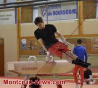 Stage national du collectif France de gymnastique à Montceau...