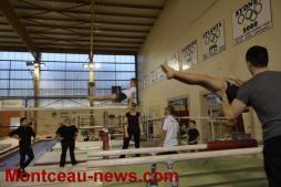 2ème stage de préformation régionale Gym artistique masculine (Montceau-les-Mines)