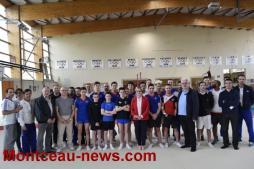 Stage du collectif France juniors et seniors au Pôle Espoir