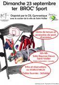 1er Broc'Sport à Saint-Vallier