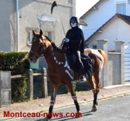 Halloween dans les rues de Saint-Vallier