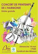 Concert de Printemps de L'Harmonie (Montceau)