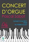 Concert d'orgue aux Ateliers du Jour (Montceau)