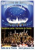 RAPPEL / Concert d'hiver de l'Harmonie de Sanvignes