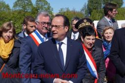 Réactualisé : Le Président François Hollande en visite