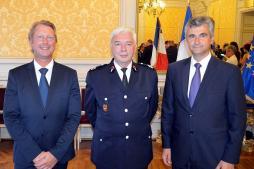 Hommage du Président André Accary....