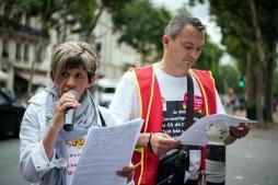 Après la manifestation à Paris devant le Ministère de la santé