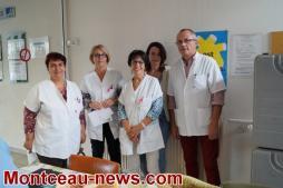 Semaine du goût à l'hôpital Jean Bouveri de Montceau