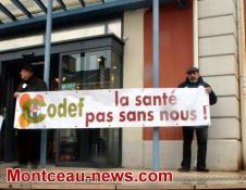 Avenir de l'hôpital Jean Bouveri de Montceau…