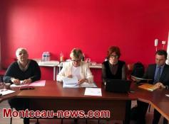 Réunion, ce lundi après-midi, du conseil de surveillance de Jean Bouveri...
