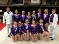 Championnat départemental de gymnastique ce week-end au Creusot