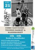 Tournoi Handibasket et Basket à Sanvignes