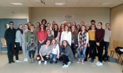 Conférence au lycée Henri Parriat (Montceau-les-Mines)