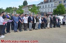 Commémoration de la journée National d'hommage aux morts pour la France en Indochine
