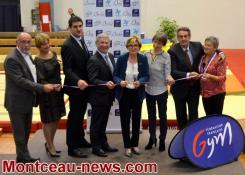 Montceau-les-Mines : Inauguration du complexe Jean Bouveri