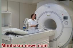 Inauguration du nouvel IRM de l'hôpital de Montceau-les-Mines