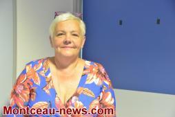 Isabelle Tabyaoui, Directrice déléguée de l'hôpital de Montceau part
