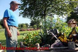 Le jardin communal à Saint-Bérain-sous-Sanvignes