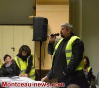 Montceau-les-Mines : Les Gilets Jaunes en assemblée Générale