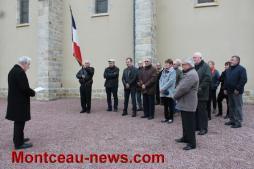 Commémoration du 19 mars 1962 à Pouilloux