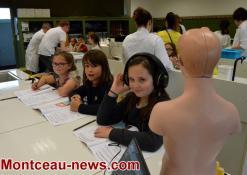 Saint-Vallier : Les CE1 au Lycée Henri Parriat