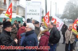 Saint-Vallier : Mobilisation du secteur social
