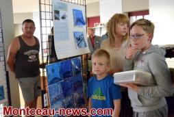 Montceau-les-Mines : exposition à la médiathèque