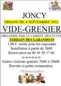 Rappel - Comité des fêtes de Joncy (Sortir)