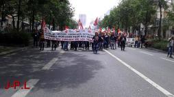 """Réactualisé - """"Loi travail"""" - Manifestation à Paris (Social)"""