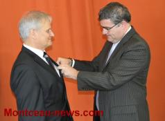 Jean Paul Meunier fait Chevalier de la Légion d'honneur (Génelard)