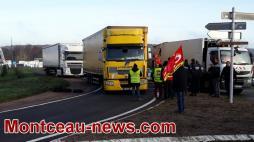 Réactualisé - Rassemblement à l'appel de l'Union Départementale CGT  à Blanzy...